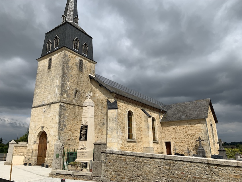 L'église de Bures